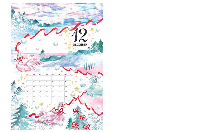 Ribbonカレンダー2018