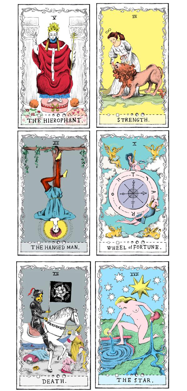 タロットカードのイラスト