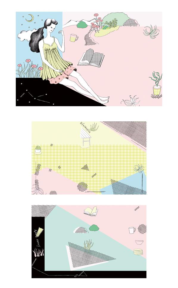 FRaU 11月号イラストレーション