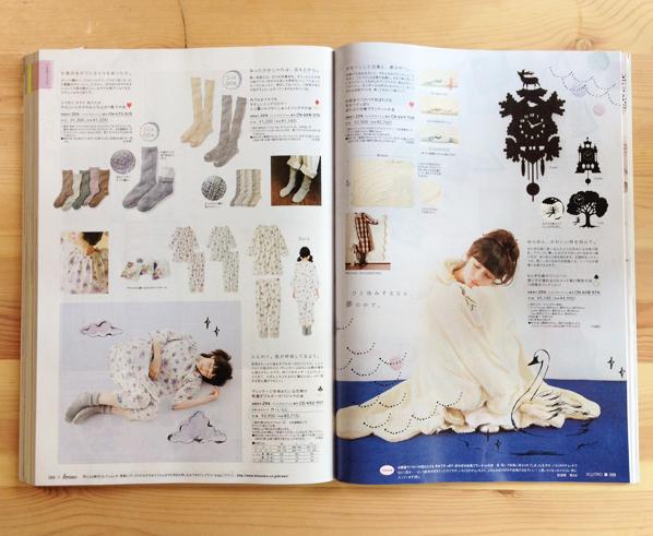 フェリシモ「kraso」2013-'14 秋と冬 イラストレーション