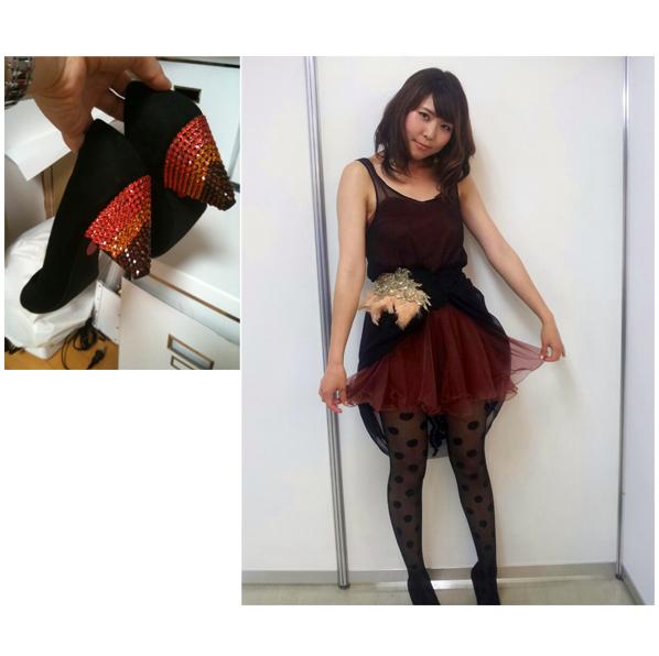 「m-flo TOUR 2012 SQUARE ONE」 YOSHIKA 衣装