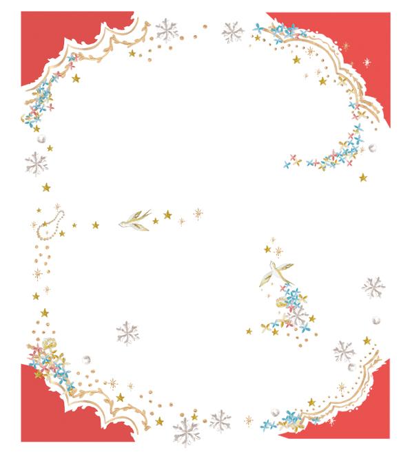 ゼクシィ 2013年1月号付録 ふたりのための婚約指輪&結婚指輪BOOKイラストレーション