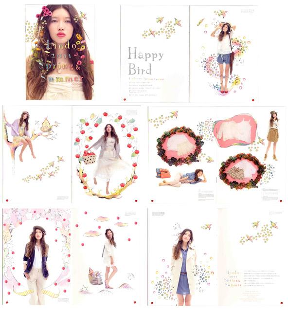 Lindo 2011 Spring&Summer カタログ