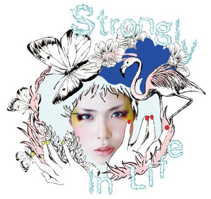 "YOSHIKA ""Storongly in life"" CDジャケット"